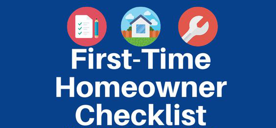 First Time Homeowner Checklist